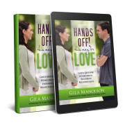 Hands Off! This May Be Love by Gila Manolson_white bg