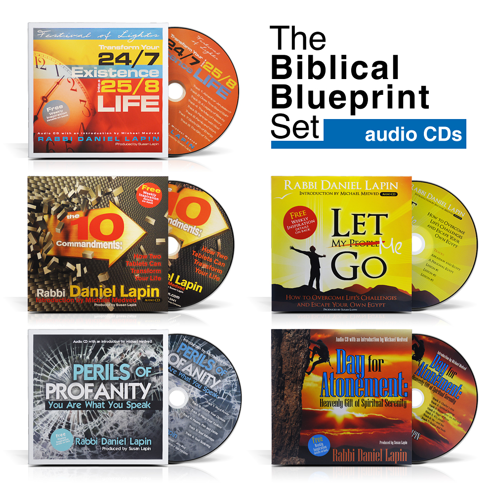The biblical blueprint set rabbi daniel lapin rabbi daniel lapin audio biblical blueprint set malvernweather Choice Image