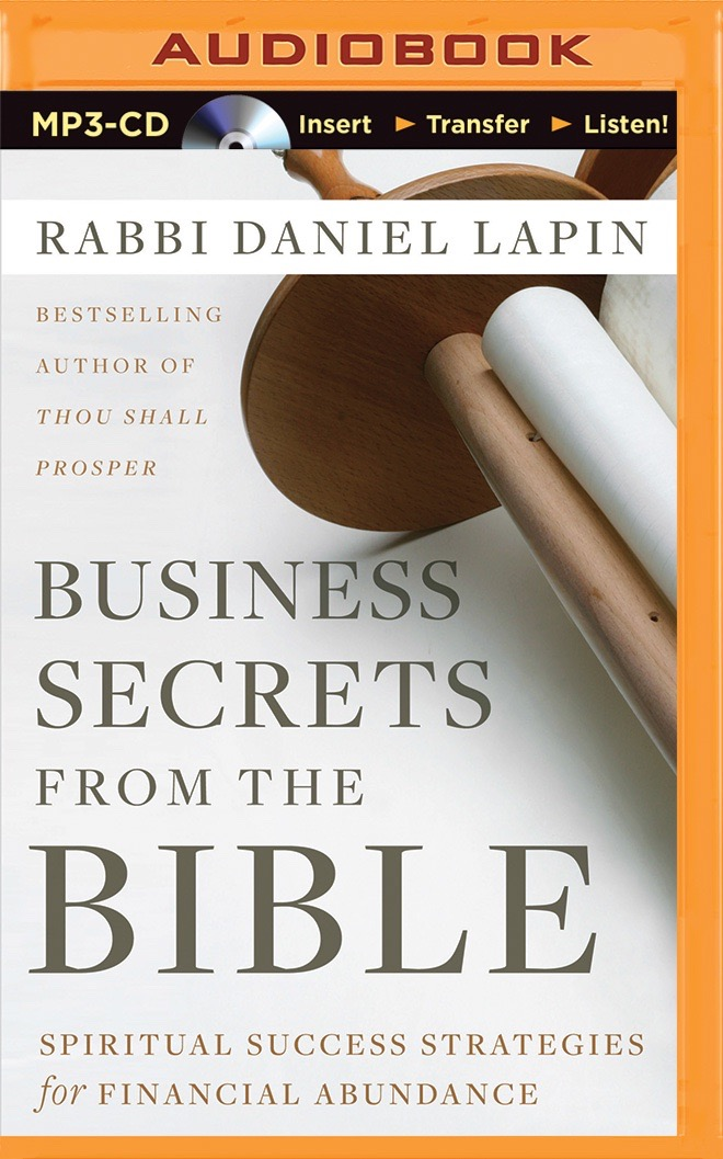 Business Secrets from the Bible (MP3-CD Audio Book)